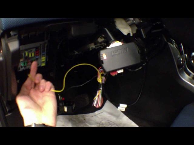 Avto-zapusk.ru Автозапуск без ключа Chevrolet Cruze 2012 Fortin EVO-ALLTHAR-GM1