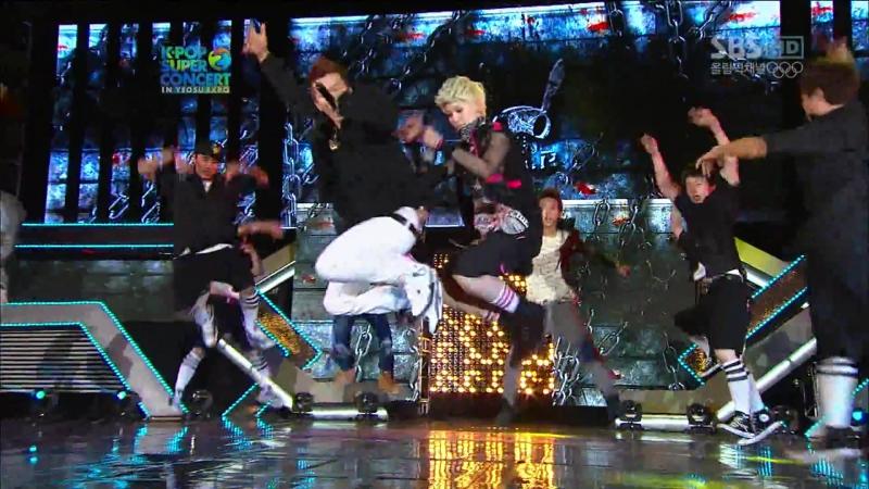 [Выступление] B.A.P - No Mercy (2012.08.09 - K-Pop Super Concert in Yeosu Expo)