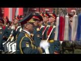 Мы - Армия Страны! Мы - Армия Народа! (Песня в конце Парада Победы 9 мая 2015)