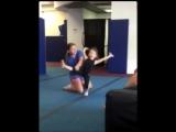 Моя маленькая гимнастка!