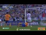 Малага 1:2 Барселона. Месси. 51 минута