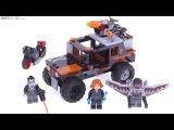 LEGO Marvel Crossbones Hazard Heist review! 76050