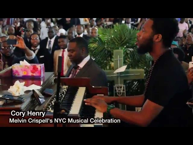 Cory Henry's solo Tribute to Melvin Crispell Wonderful is your name