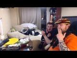 VJLink и Влад Савельев секс по телефону со страпоном