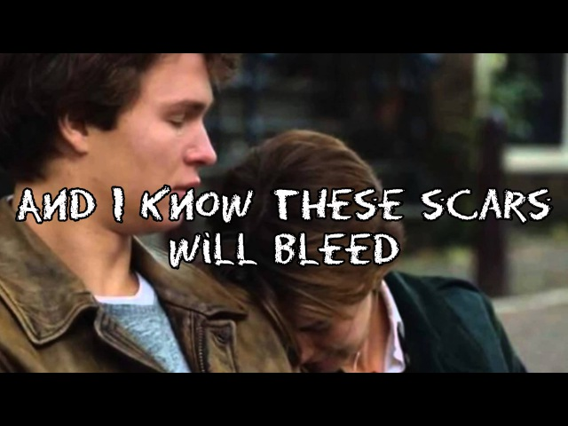 All of the Stars - Ed Sheeran - from The Fault in Our Stars (Lyrics Picture)
