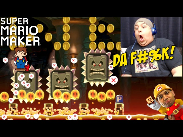 BETTER CLOSE THAT MOUF!! [SUPER MARIO MAKER] [22]