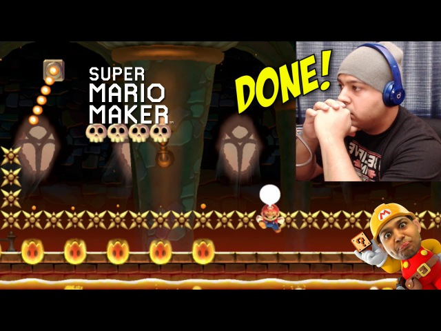 I'M DONE WITH YALL SUPER MARIO MAKER 20