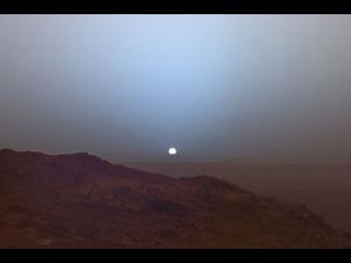 Закат на Марсе: NASA опубликовало видео захода Солнца
