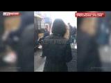 Опубликовано видео нападения с тортами на Навального