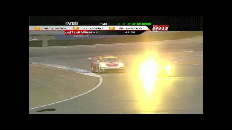Exciting GT2 finish at Laguna Seca
