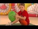 Разминка с шариком Прыг скок команда - Зарядка для малышей!
