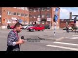 В Европе водитель Азербайджанец чуть не задавил азербайджанского журналиста пешехода. АЗЕРБАЙДЖАН , AZERBAIJAN , AZERBAYCAN