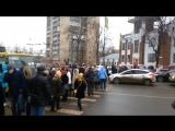 Неадекватные люди перекрыли в Иванове проспект Ленина