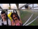 Случайный Кот в самолёте! Лицо пилота это Шедевр!!!))))))))