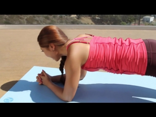 Plank-a-thon pilates workout - pilates bootcamp with cassey ho