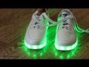 Кроссовки с LED подсветкой обзор