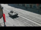 Парад военной техники. Тверская-Ямская 1.