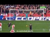 Арсенал 0-1 Лестер | Гол: Варди (пен)