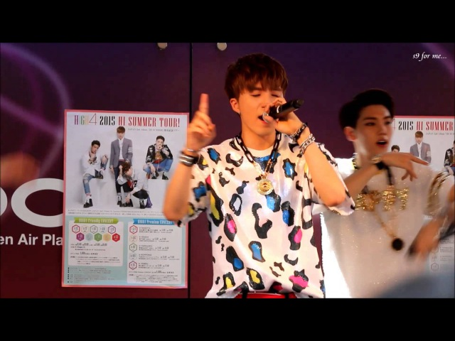 [HIGH4 IN JAPAN] 150725 HIGH4 miniLIVE Ture Love(JP ver.)(SungGu focus)