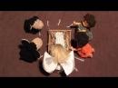 Родился как ягнёнок - детская рождественская песня - STOP-MOTION - /Лансере/ Kids Christmas song