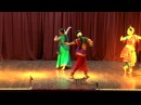 A trio of Odissi, Bharatanatyam and Kathak dancers perform in India