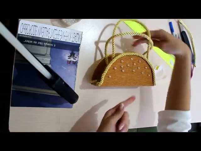 Анна Тюмерова Сумочка из конфет своими руками. Часть 2