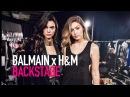 BALMAIN x H&M BACKSTAGE ft Kendall Jenner, Gigi Hadid, Oliver Rousteing | MODTV