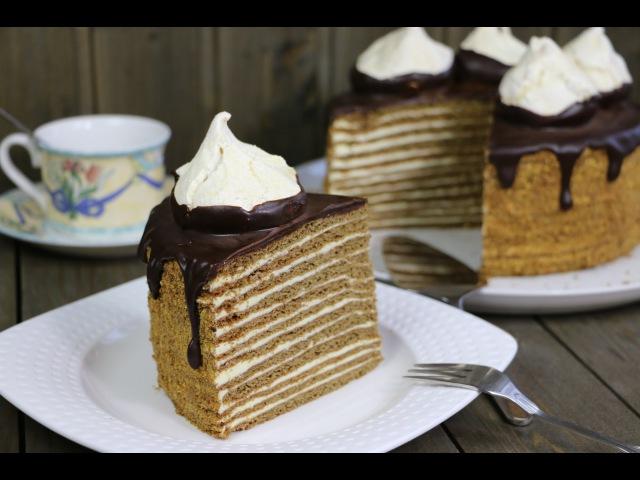 Торт Спартак ✧ Spartak Cake Recipe (English Subtitles)