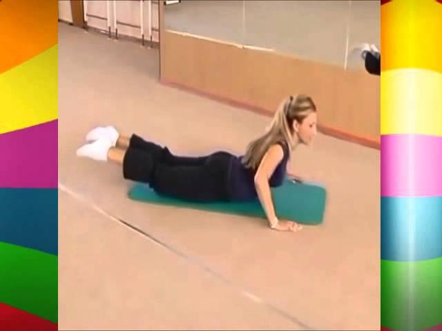 Упражнения для позвоночника при остеохондрозе.