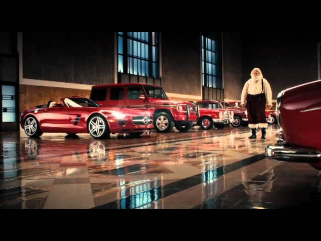 Peter Xifo - Santa's Choice - Mercedes Benz, Santa. (hi res)