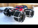 RC ADVENTURES - FLOATiNG TRAXXAS SUMMiT - iCE Chains Floating RC TiRES