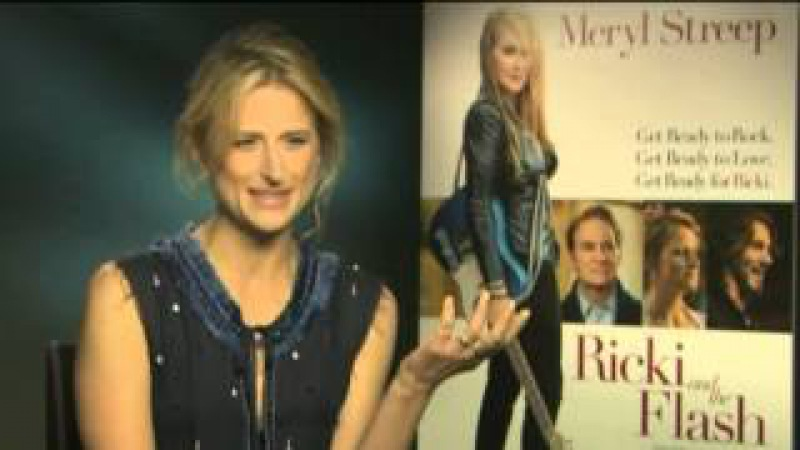 Mamie Gummer Meryl Streeps daughter on life with a famous mum