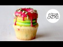 NEON BURST DOH!NUT (DOUGHNUT) CUPCAKES - The Scran Line