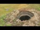 Что нашли на дне таинственной воронки на Ямале Mysterious crater in Yamal