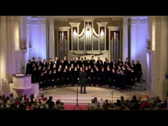 Concordia Choir: My Soul's Been Anchored in the Lord