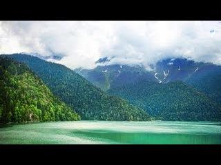 Абхазия. Рица и Голубое озеро (HD)