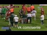 В Азербайджане в Баку на матче