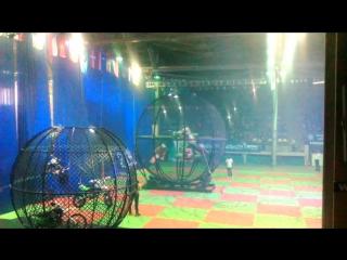 Мото шоу цирка шапито Демидовых