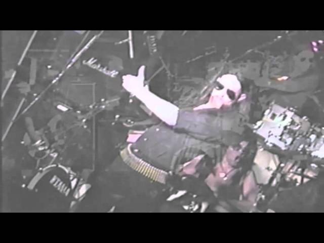 The Lemmys (Motorhead tribute band) live at the Whisky a go go for Lemmy's 50th b-day party 1995