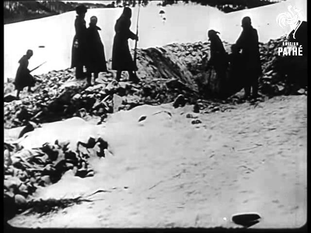Sarikamish, the disastrous Ottoman campaign in Caucasus.
