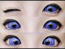 REVIEW: Sclera Lenses - Phantasee Violet Colossus (Rinnegan) (From Uniqso)