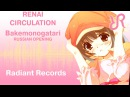 Bakemonogatari (OP 4) [Renai Circulation] Hanazawa Kana RUS song cover