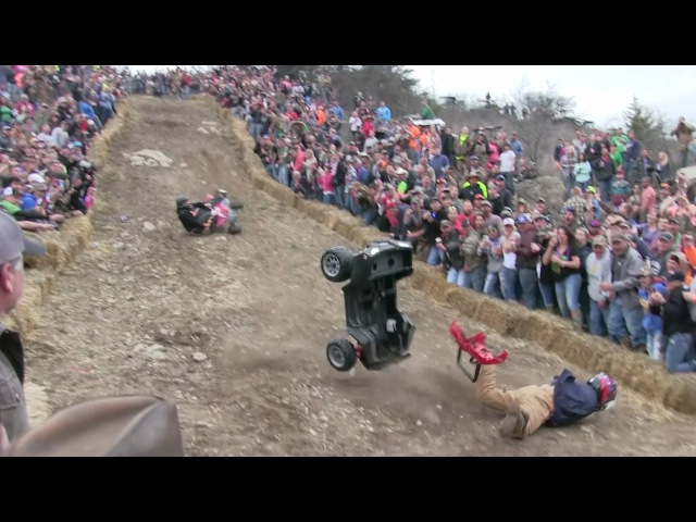 REDNECK Downhill Race Crash Compilation