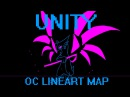 Unity OC Lineart MAP Complete Flashing Colors Warning