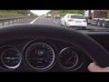 Mercedes E63 AMG S Onboard Acceleration Autobahn 250 kmh Drive + Kickdown W212 2015 4 Matic S
