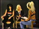 Mötley Crüe   Wendy O  Williams Interview 1985