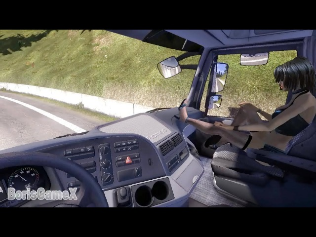 Hitchhikers Mod - ETS 2 - Passengers - AutoStop Travel - Professor Severus Snape's Last Role