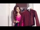 SELENA GOMEZ - #FIRSTDAYLOOK - PLAID JACKET & SKATER SKIRT