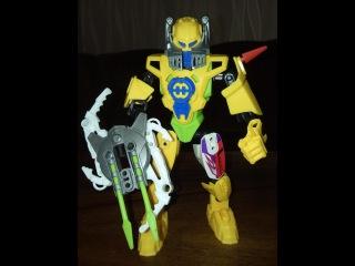 Домашние сражения игрушек ↑ Робот Земной Герой EARTH HEROES ↑ Обзор игрушек
