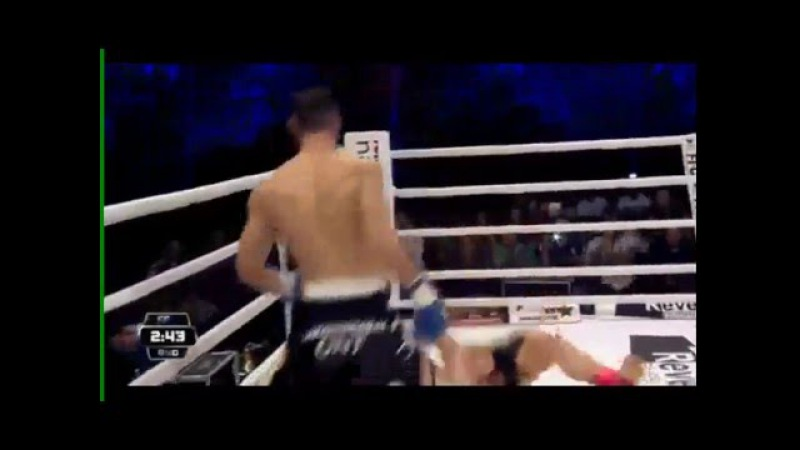 Meletis Kakoubavas vs Samo Petje - Awesome KO